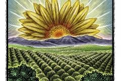 Agricultural Landscape art