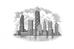 Chicago-skyline-art