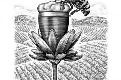 Beer Flower art