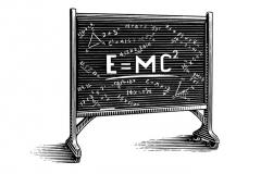 Einstein_s Chalkboard