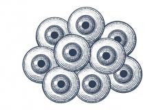 Eyeballs Woodcut
