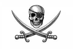 Skull MB Logo art