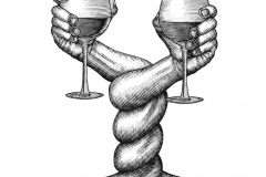Twisted Wine Arms