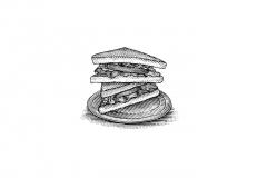 BLT-Sandwich-art