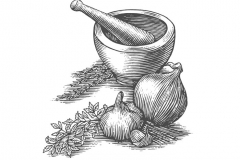 Herbs-Mortar-and-Pestle