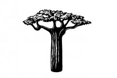 Baobab tree art 2