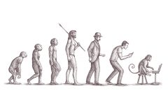 Evolution-art