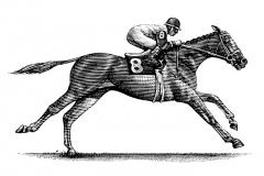 Horse-Jockey-art