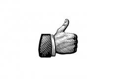 Thumbs-up_woodcut