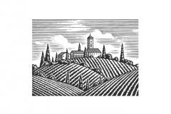 Italian-Hillside-art