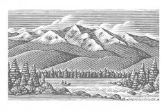 Mountain_Woodcut