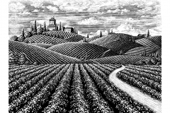 Tuscany art