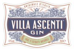 Villa Ascenti Flat Label
