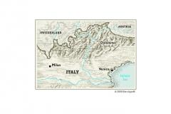 Dolomites-map