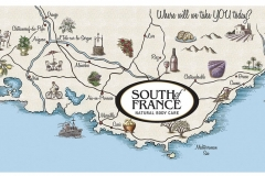 South of France Map