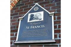 St_Francis_Plaque