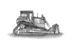 Bulldozer-art