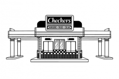 Checkers-Building-art