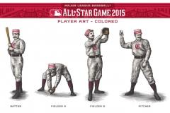 All-start_Baseball-players