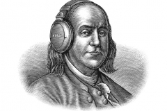 Ben_Franklin_Koss_Headphones