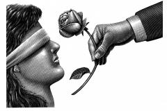 Giving Rose art