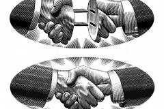 Handshake- Steven Noble