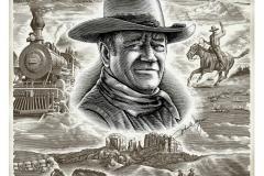 John Wayne Poster copy