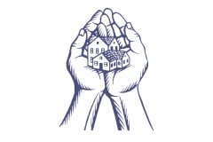 Hands-Holding-House-art-color