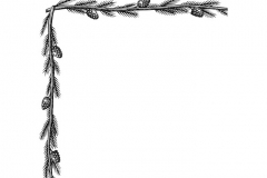 Pine-tree-Border-Art