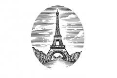 Eiffel-Tower-art