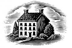 Woodcut_House